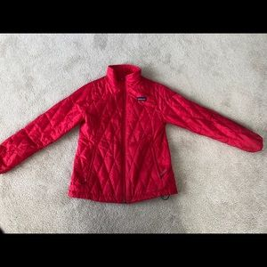 Pink Patagonia kids Jacket size M  10
